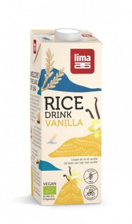 LIMA bio rizsital vaníliával 1l