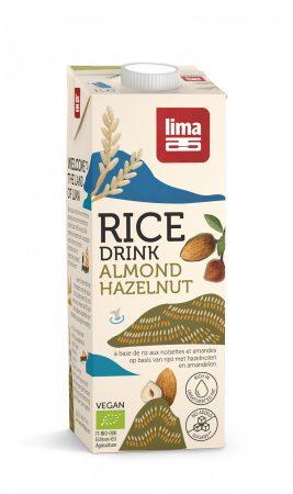LIMA bio rizsital mogyoróval és mandulával 1l