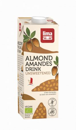 LIMA bio mandulaital natúr,édesítőszermentes 1l