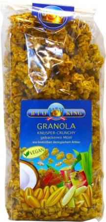 Bioking Bio pirított ropogós müzli /granola crunchy/ 375g