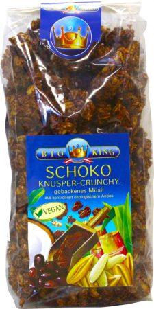 Bioking Bio pirított ropogós müzli csokis 375g