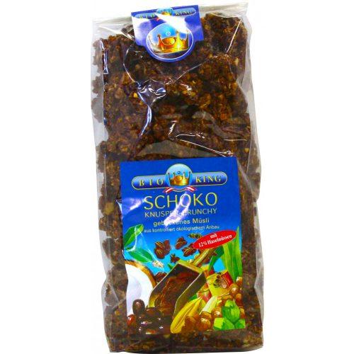 Bioking Bio pirított ropogós müzli csokis-mogyorós 375g