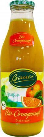 Bauer Bio narancslé 100% 0,98l