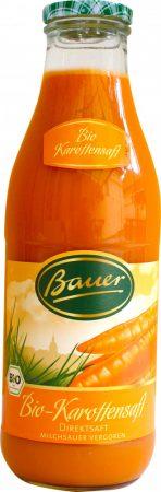 Bauer Bio sárgarépalé 100% 0,98l