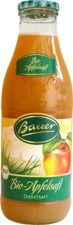 Bauer Bio almalé szűretlen 100% 0,98l