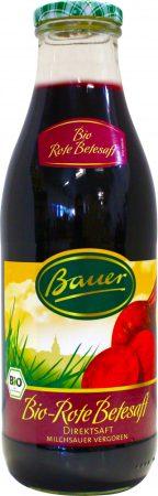 Bauer Bio céklalé 100% 0,98l