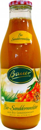 Bauer Bio homoktövis nektár 35% 0,98l