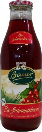 Bauer Bio pirosribizli nektár 30%-os 0,98l