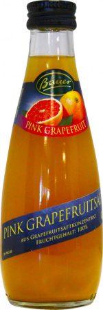 Bauer rózsaszín grapefruitlé 100% 0,2l