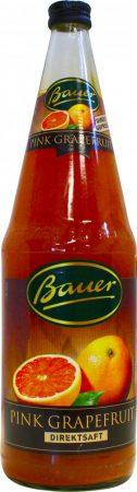 Bauer piros grapefruitlé 100% 1l nem koncentrátumból