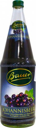 Bauer feketeribizli nektár 30% 1l