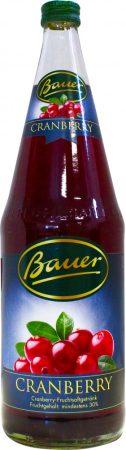 Bauer vörösáfonya nektár 28% 1l